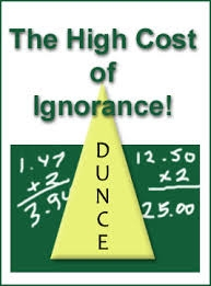 cost of ignorance
