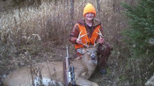 Sonja and her buck