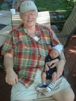 Dad with Noah