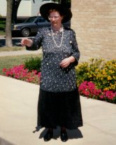 Mom at Hans' Wedding